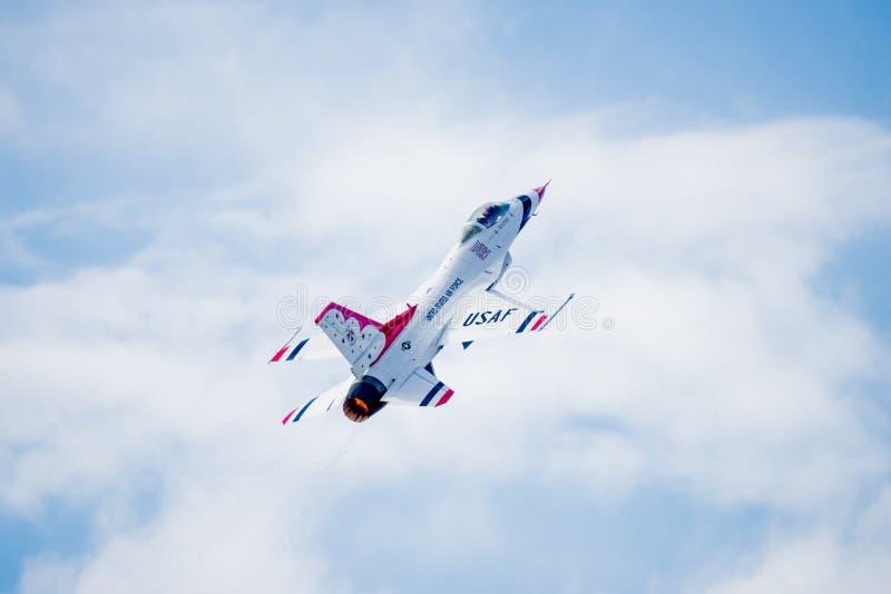 myśliwiec z zabranie zdjęcia stock