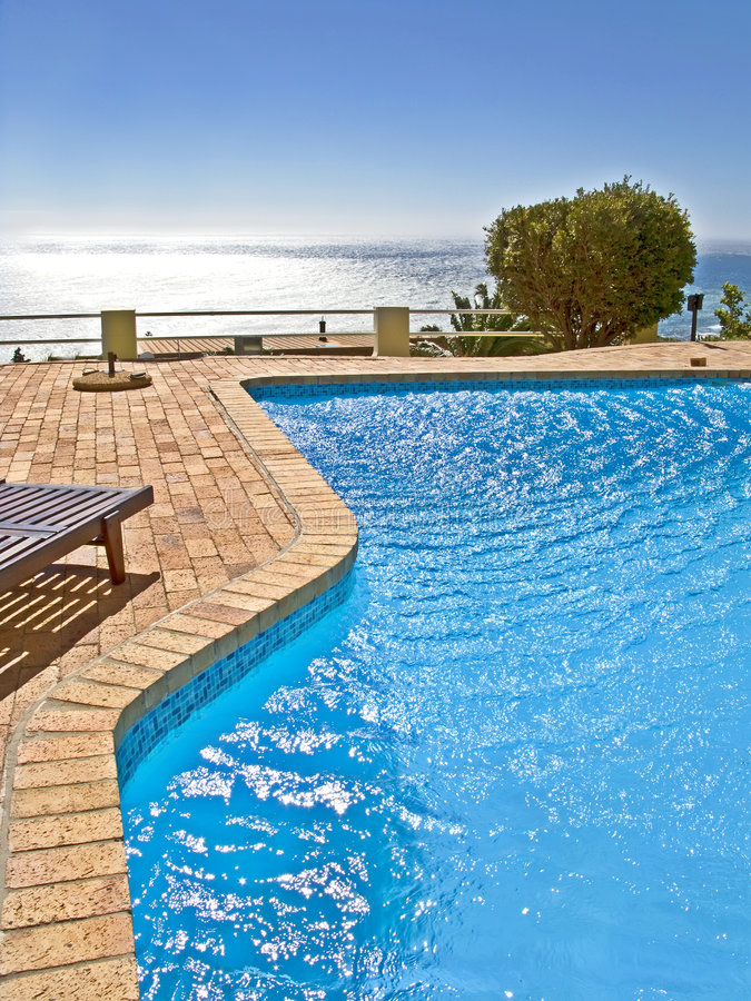Download My African pool stock image. Image of blue, health, holiday - 4836333