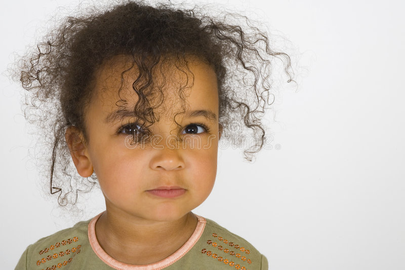 Download My Angry Face stock image. Image of curly, emotional, beautiful - 920861
