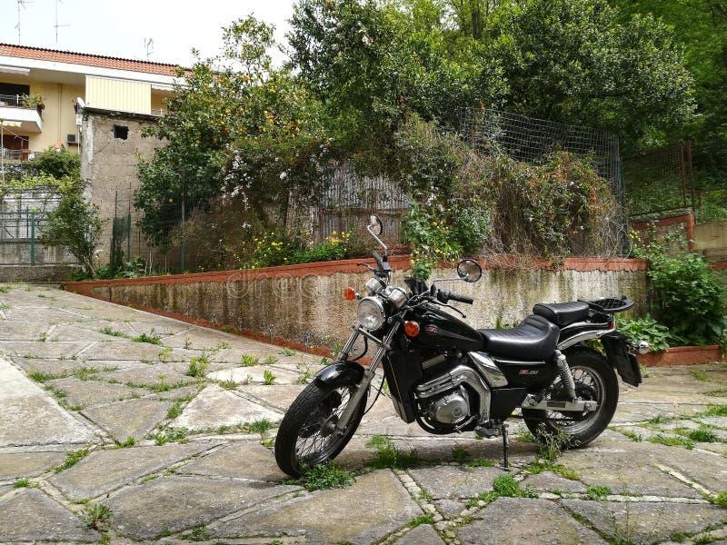 My bike, my love! stock images