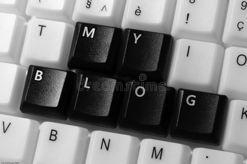 Download My Blog stock image. Image of type, computer, user, keyboard - 12791909