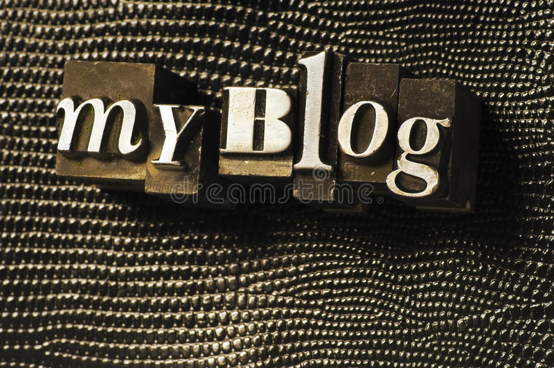 My Blog royalty free stock photo