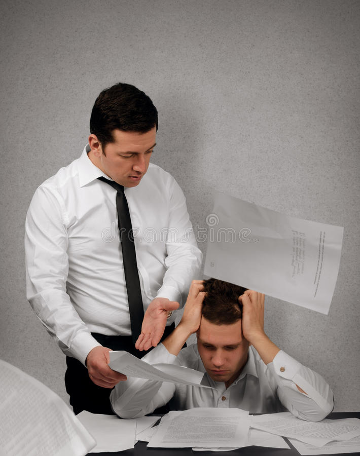 Free My Boss Is A Bully Stock Photography - 29376282