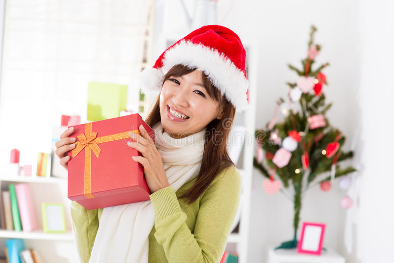 My Christmas gift royalty free stock photos