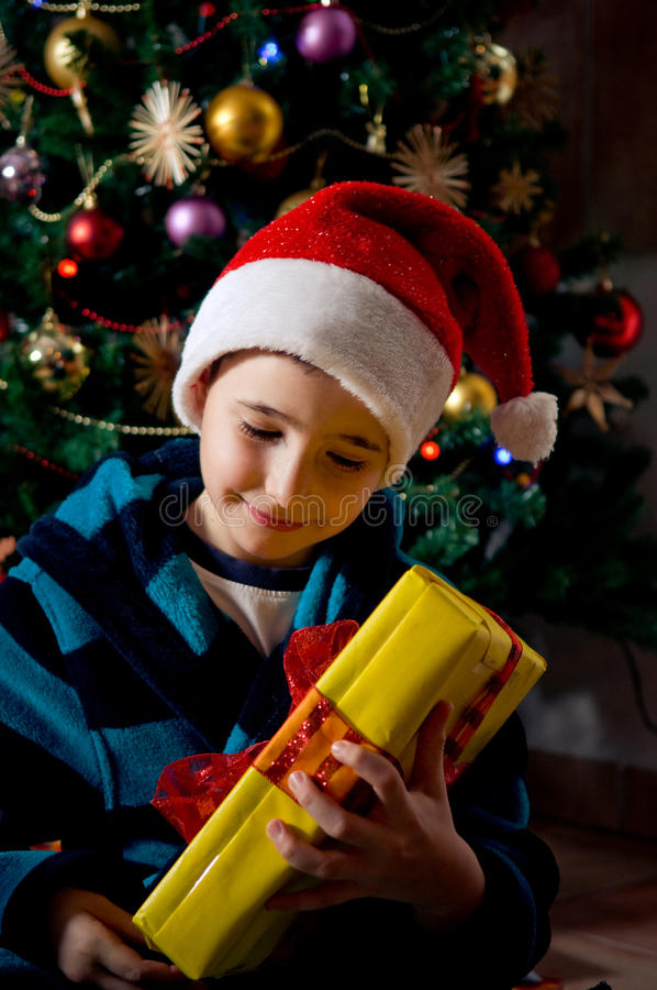 My christmas gift stock images