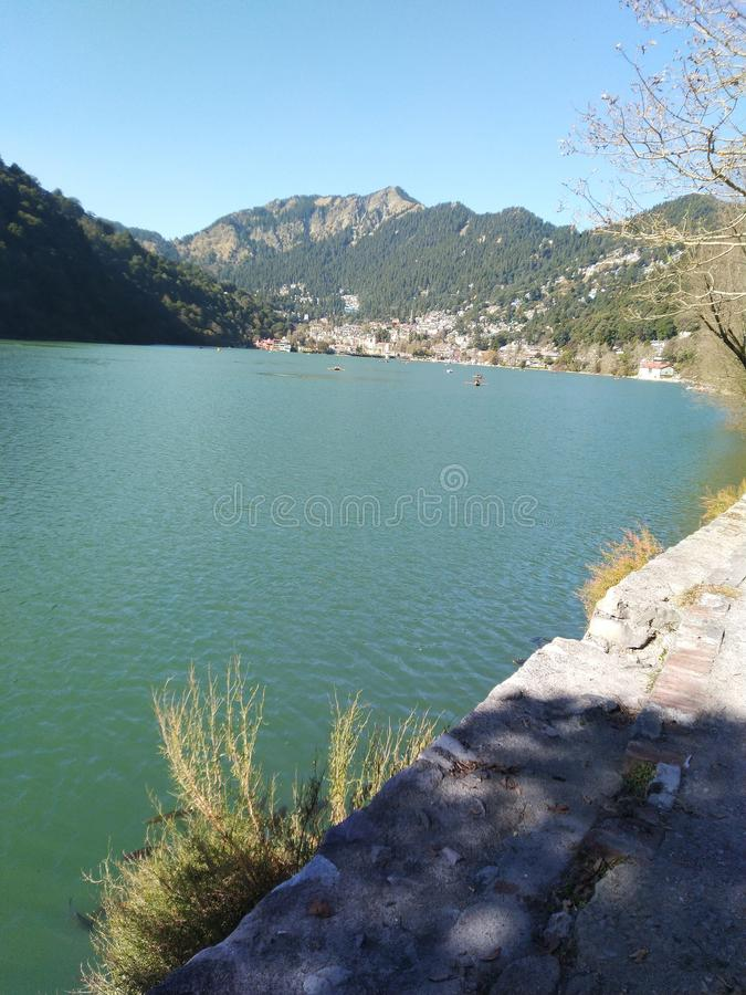 My city lake view image. My city lake image in day time and very good lake views royalty free stock image