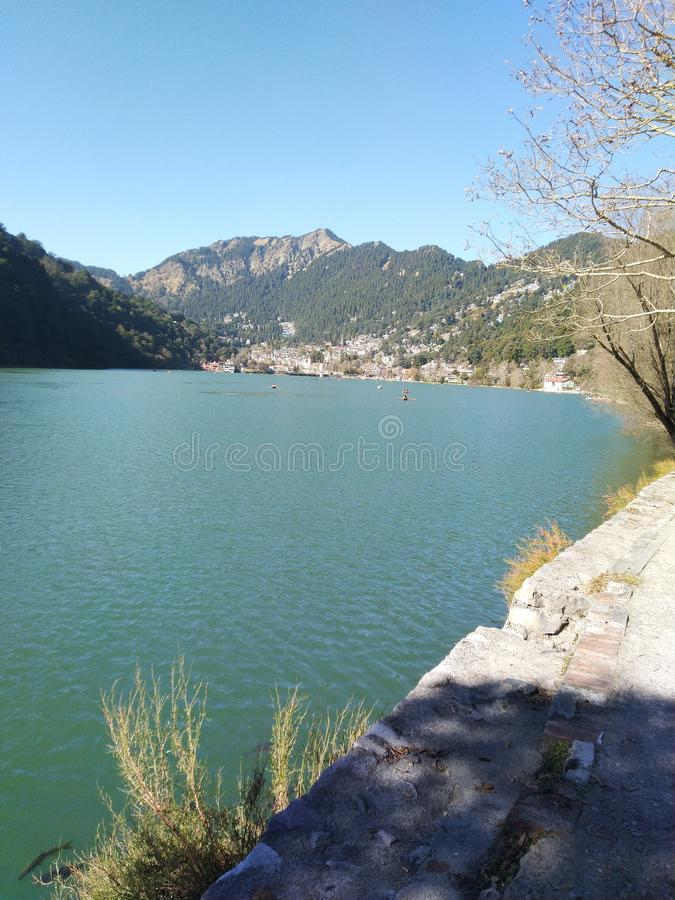 My city lake view image. My city lake image in day time and very good lake views stock photo