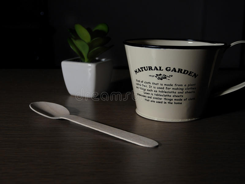 My cup stock photo