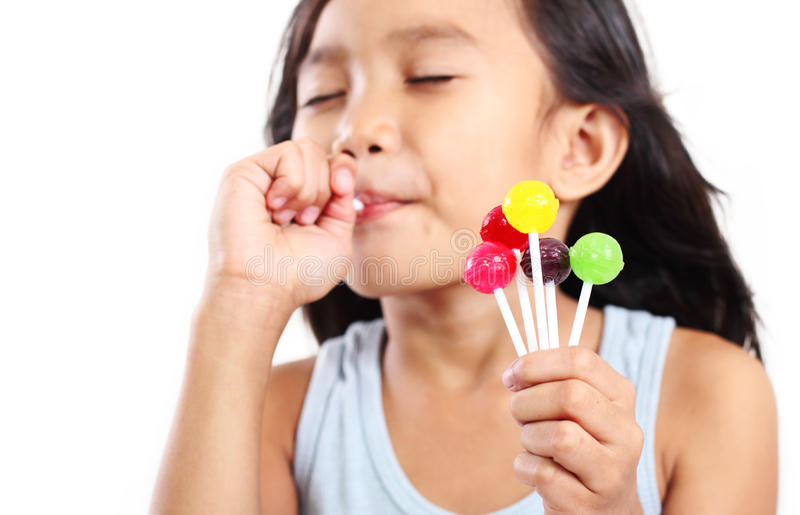 Download My Delicious Lolllipop stock photo. Image of pretty, person - 27692952
