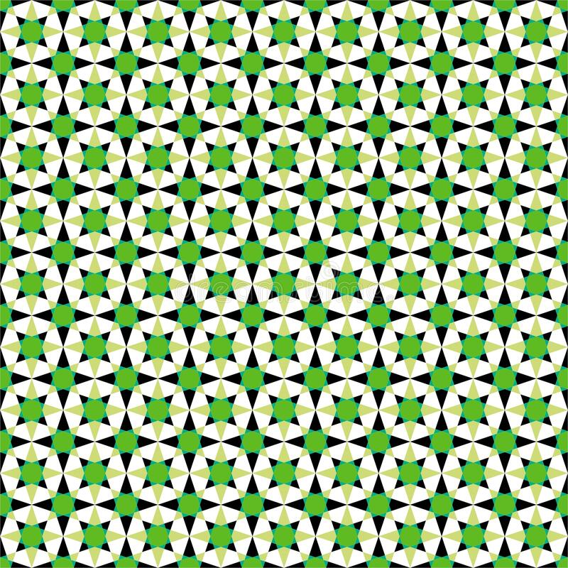 The Amazing of Seamless Colorful Green, White Black , Abstract Pattern Wallpaper. This is my design about Pattern Wallpaper and I hope you like it. With title stock illustration