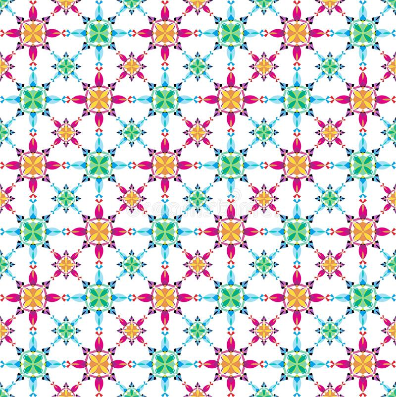 Colorful Seamless Pattern Flowers, Abstract, Illustrator Floral Pattern Wallpaper. This is my design about Pattern Wallpaper and I hope you like it. With title vector illustration