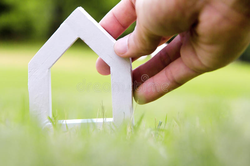 My dream house concept royalty free stock photo