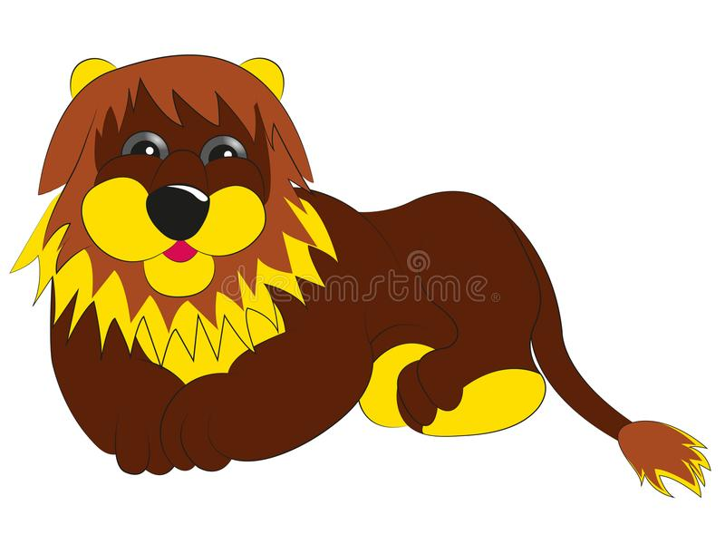 My fairy lion royalty free stock image