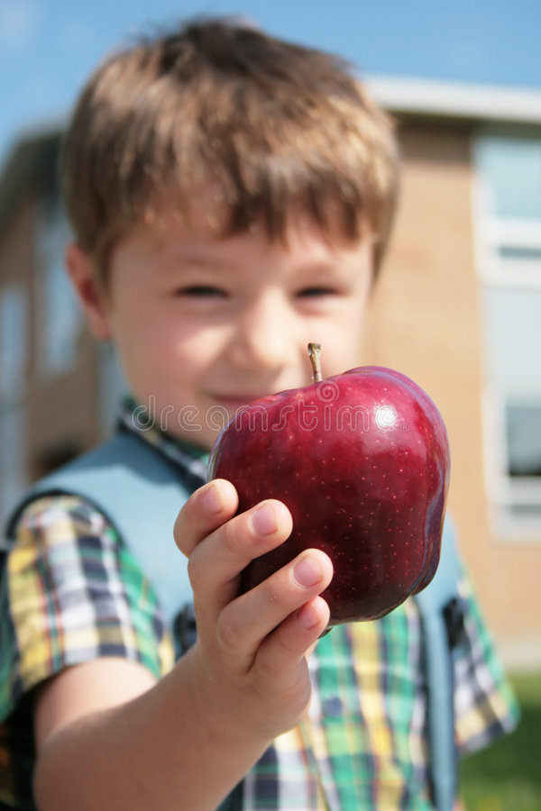 My first day to school royalty free stock photography