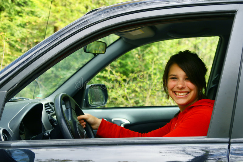 My first drive royalty free stock photography