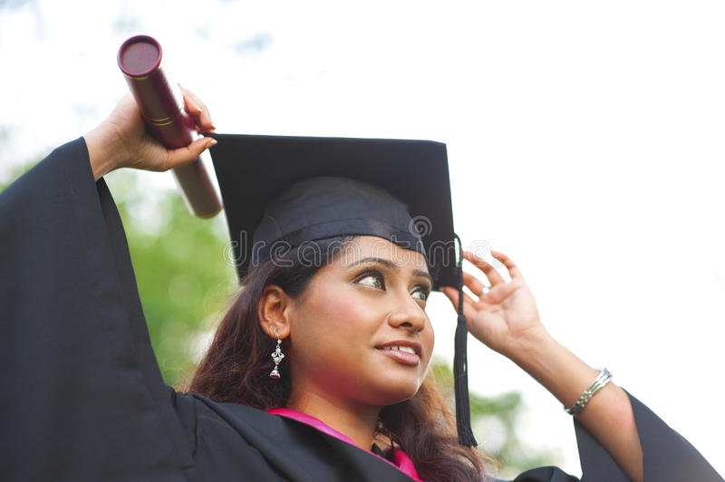My graduation day stock images