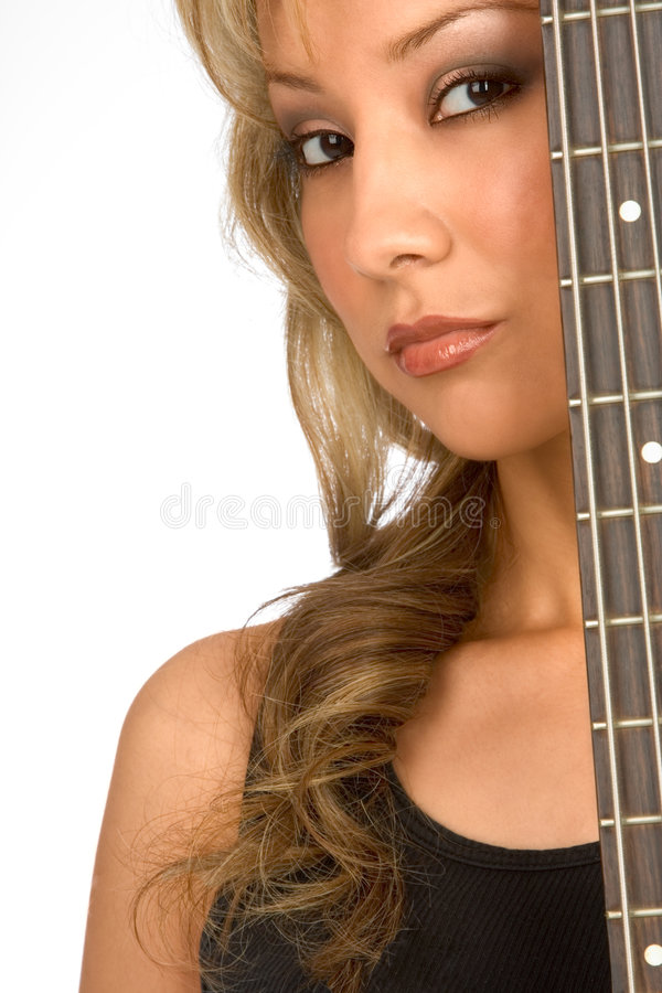 My guitar - musician stock images
