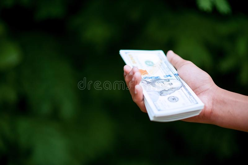 How to Make Money Online And the money to do business. Financial royalty free stock photos