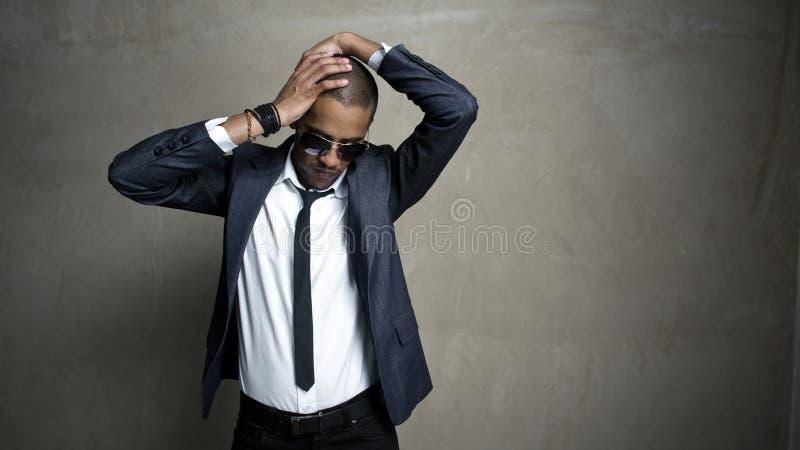 Download In my head stock image. Image of handsome, business, studio - 13446317