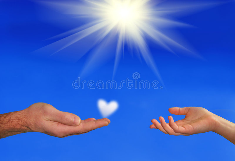 Download My heart to you stock photo. Image of sunlight, nature - 8018984