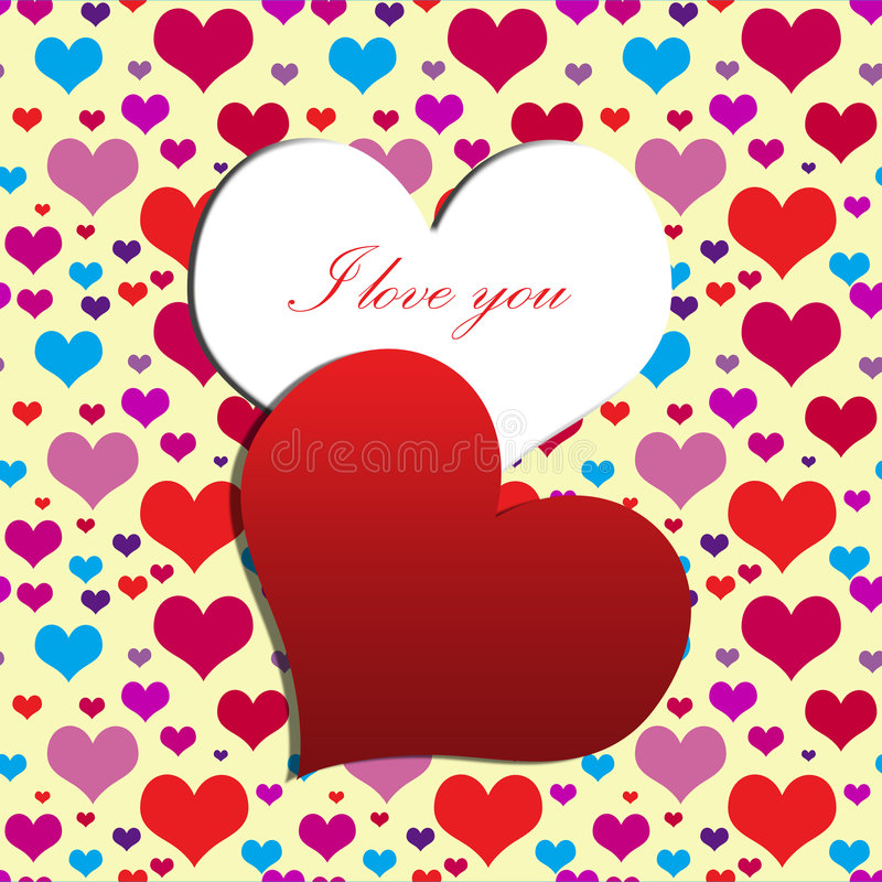 My heart for you stock image