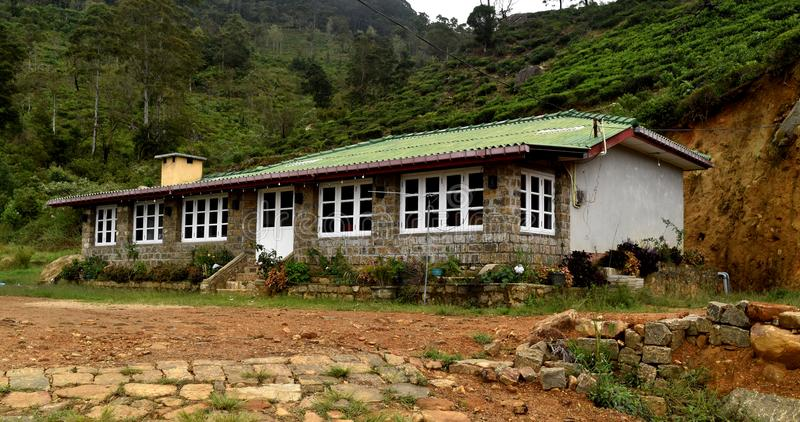 This is my holiday house in ohiya. This photo taken from Ohiya holiday bangalow. near horton place.in this place has nice view royalty free stock images