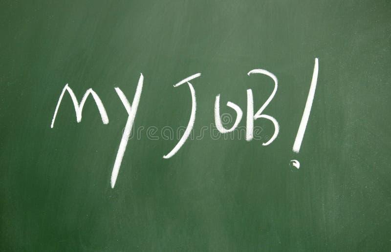 Download My job symbol stock photo. Image of design, chalk, billboard - 24115138