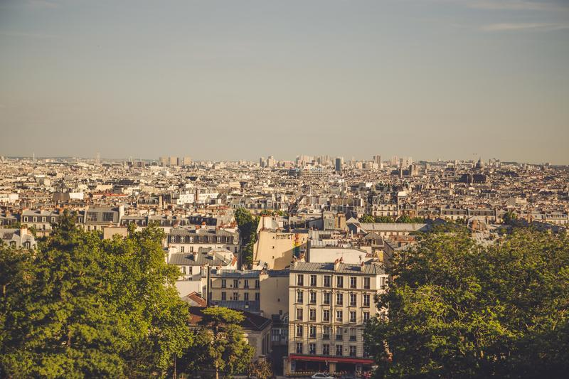 My last time in Paris, France. stock images