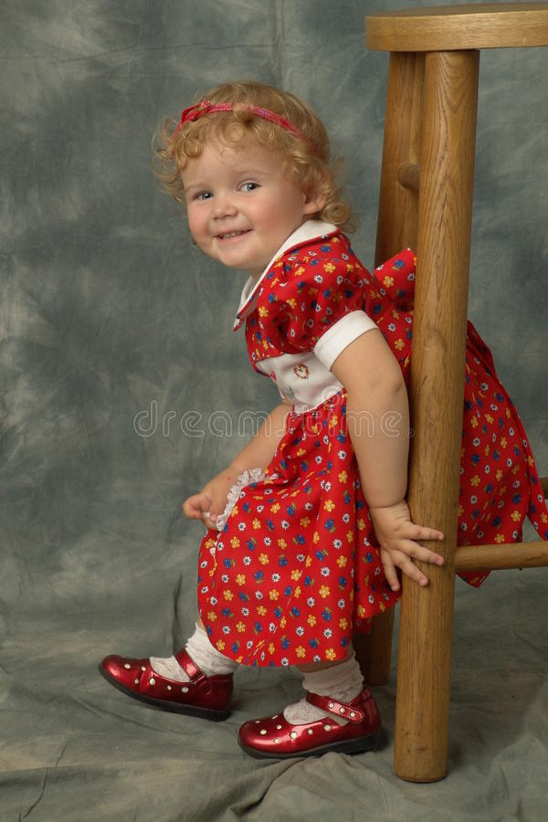 My little daughter royalty free stock photography