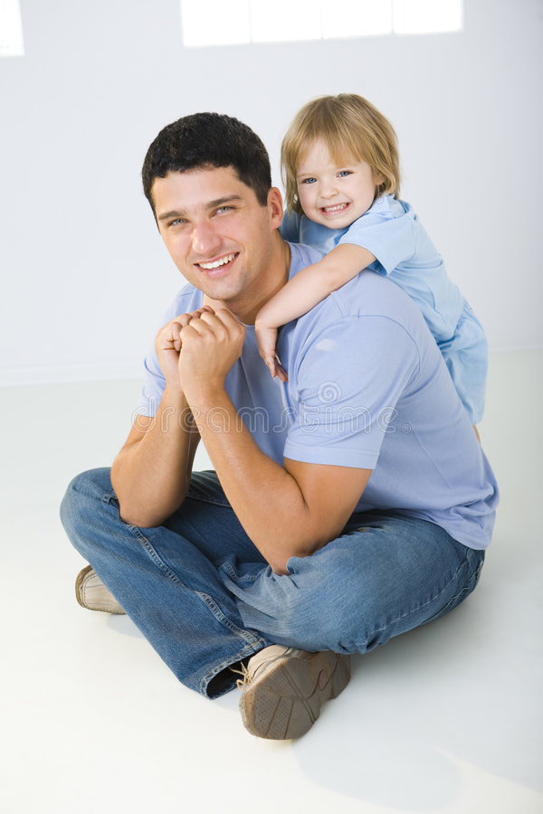 My love daddy royalty free stock photo