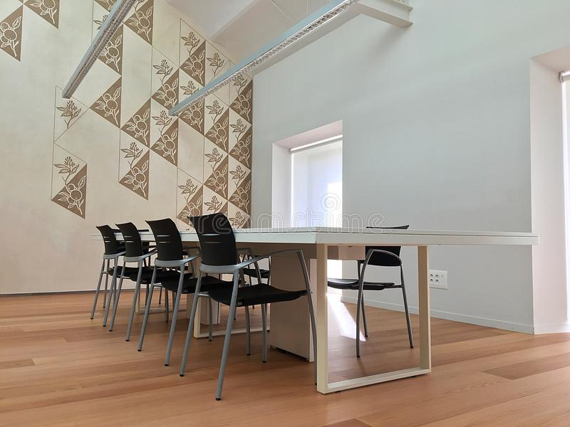 My luxury meeting room royalty free stock images