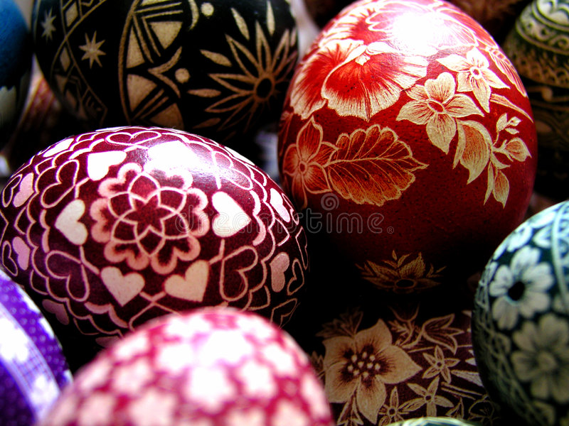 Download My Mom's Easter stock image. Image of folk, decoration, poland - 89087