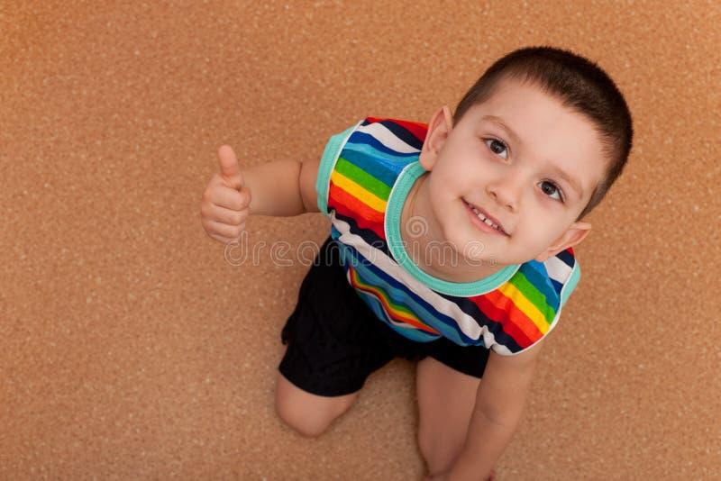 Download My mood is great stock photo. Image of indoor, preschooler - 19083988