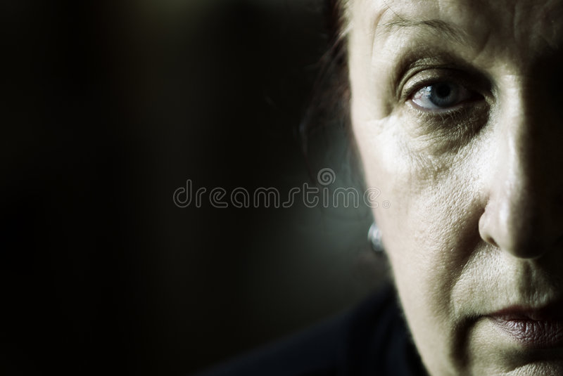 My mother portrait royalty free stock images