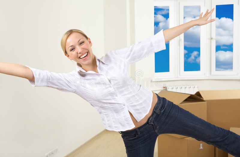 My new home royalty free stock images