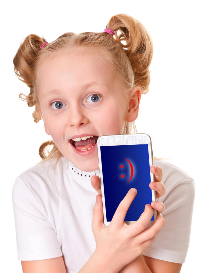 Download My new toy! stock photo. Image of phone, leisure, little - 23935416