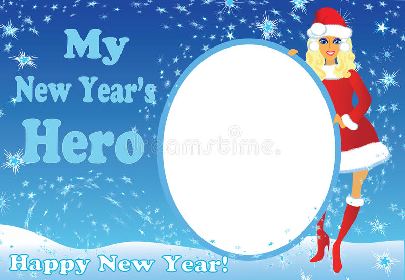 My New Year's hero royalty free stock images