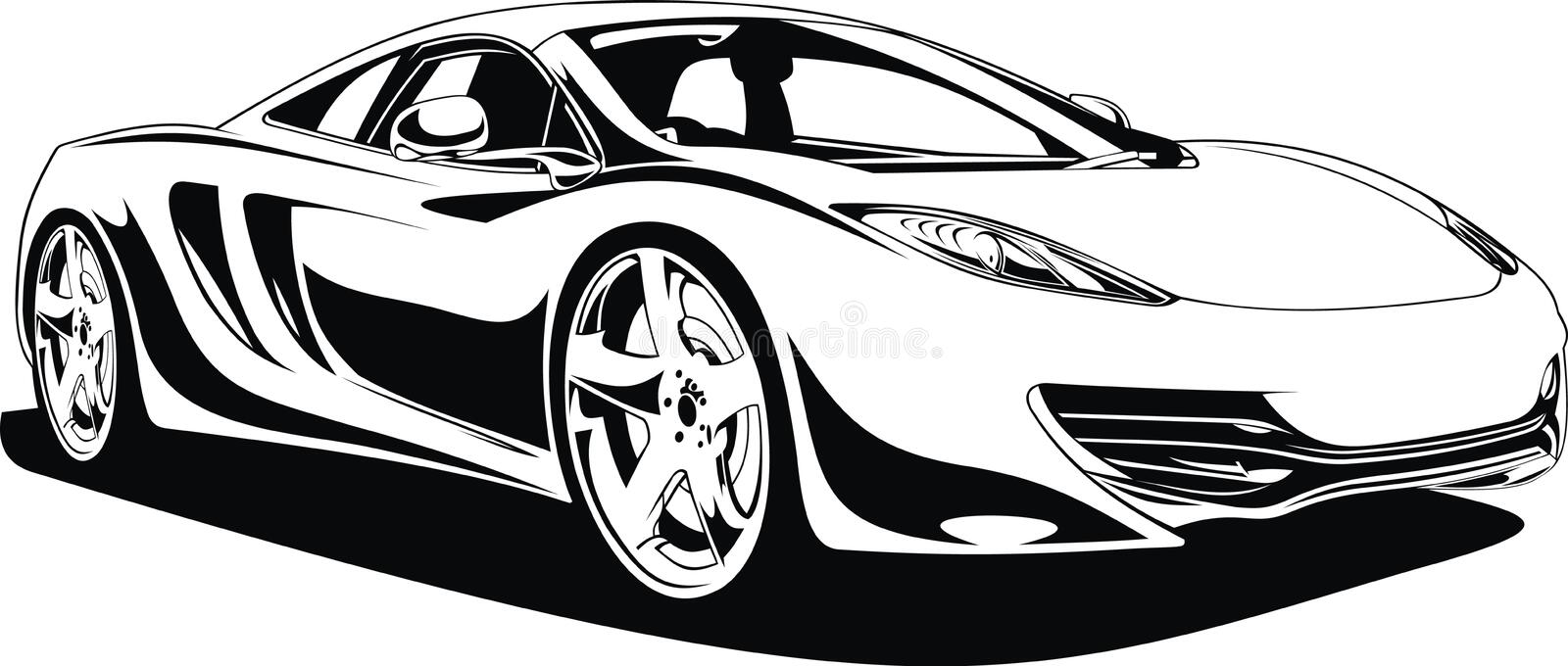 My Original Sport Car Design Black White Stock Illustrations 11 My Original Sport Car Design Black White Stock Illustrations Vectors Clipart Dreamstime