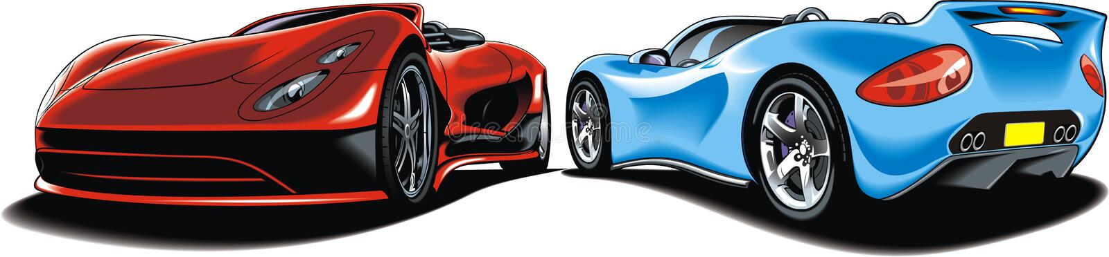 My original sport cars design vector illustration