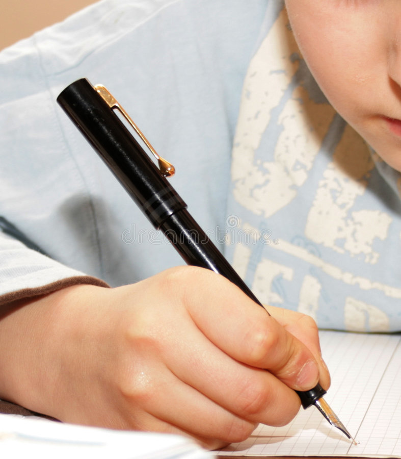 My pen royalty free stock image