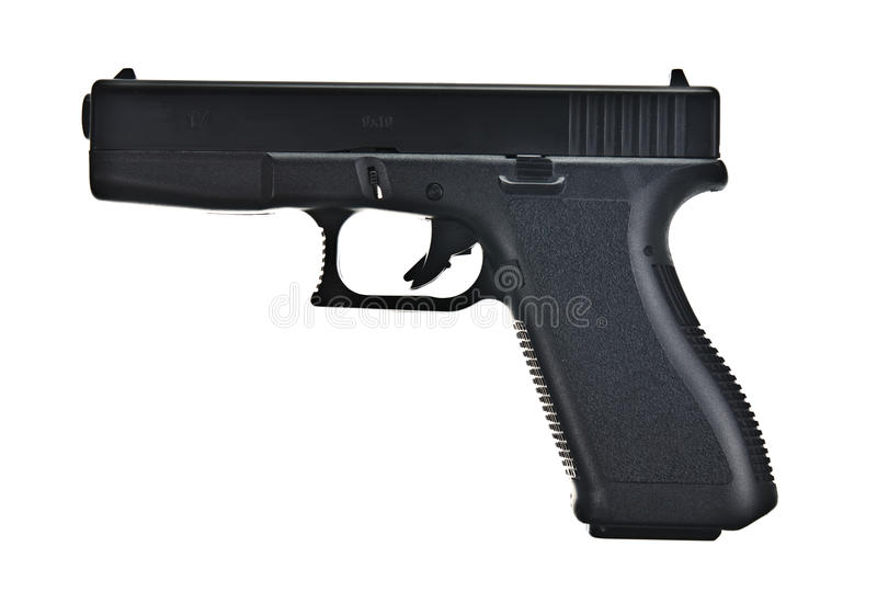 My pistol royalty free stock images