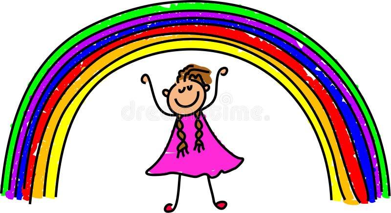 My rainbow vector illustration