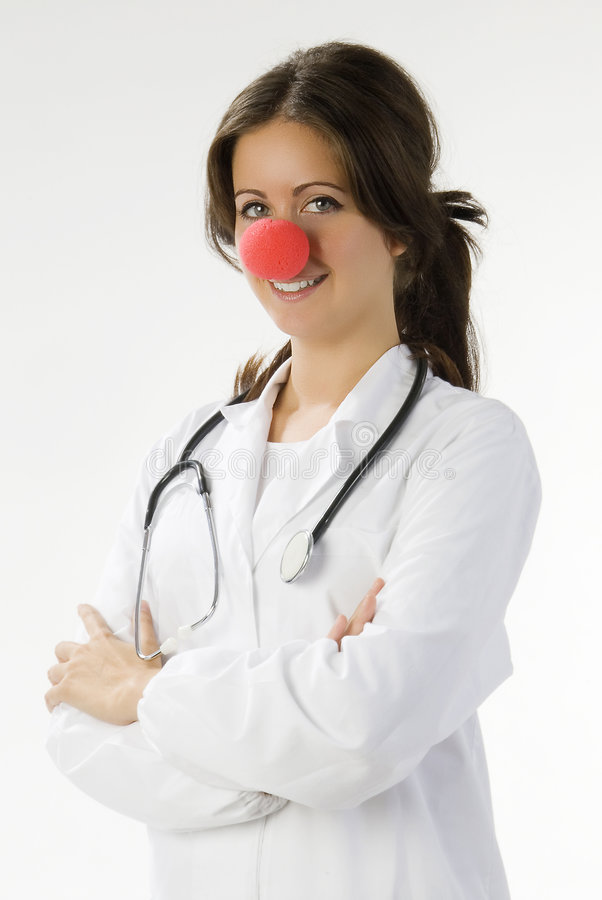 My red nose royalty free stock photos