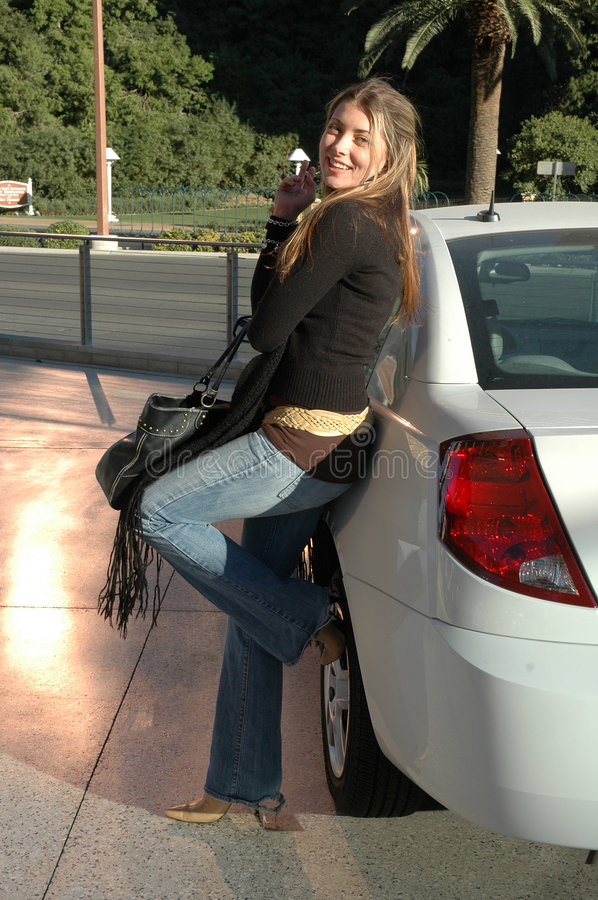 Download My Ride stock image. Image of female, diversity, american - 1637273