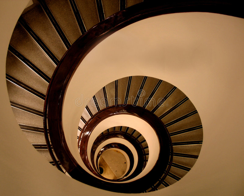 MY STAIRS stock photography