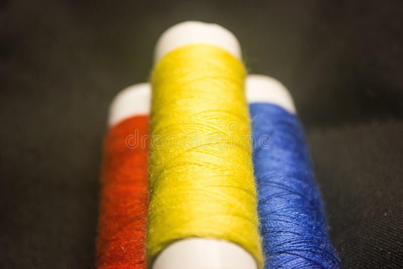 Color thread royalty free stock photos