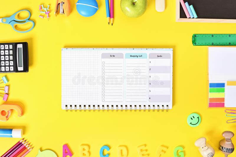 My to do list stock photography