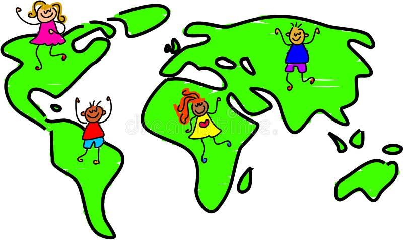 My world royalty free illustration