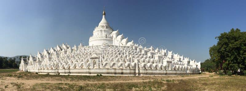 Mya Thein Dan Pagoda in Mingun, Myanmar stock fotografie