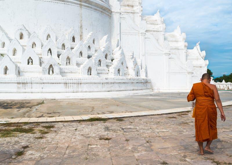 Mya Thein Tan Pagoda, Mingun, Myanmar& x28; Burma& x29; imagens de stock
